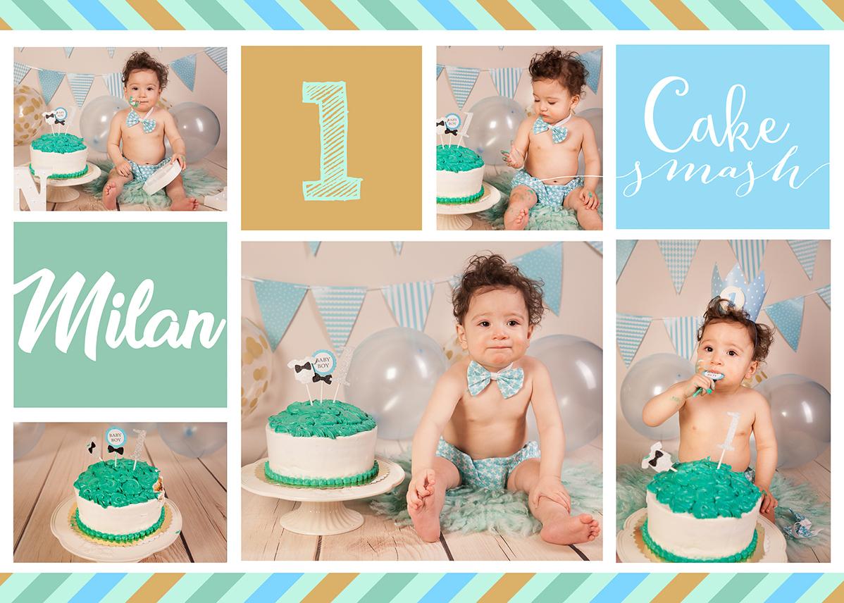 Cake Smash Fotoshooting Junge